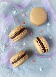 recipes & photos by Natalija German Chocolate Cookies, Cooking Tips, Cooking Recipes, Mouth Watering Food, Food Photo, Macarons, Doughnut, Food Videos, Cake Recipes