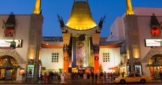 TCL Chinese Theatre - is a cinema on the historic Hollywood Walk of Fame.