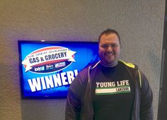 Kyle Yancey won $100 from KXLY4, Divine's & Yokes.