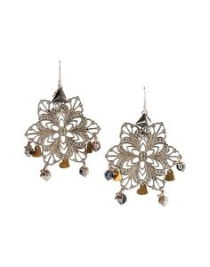 https://www.cityblis.com/2069/item/14434 | Art.HYP018 Duchess Earrings - $177 by Maiden-Art Boutique | Earrings made with silver pla- ted brass and crystals. Hand varnished, hypoallergenic and hand made in Italy. Orecchini realizzati in bronzo bagnato nell'argento e cristal- li. Realizzati a mano in Italia e nickel free. | #Earrings