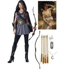 hunter of artemis costume - Google Search  sc 1 st  Pinterest & Hooded Huntress Tween Costume | Pinterest | Tween Costumes and Free ...