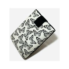 Tablet Case, iPad Cover, butterfly, Kindle Fire Sleeve, 7, 8, 9, 10... ($25) ❤ liked on Polyvore featuring accessories and tech accessories