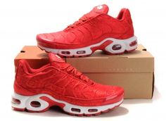 premium selection 17d65 e24ae 2016 New style Cheap Nike air max tn men Running shoes,Sales original tn  Requin pas cher homme Carved red mesh