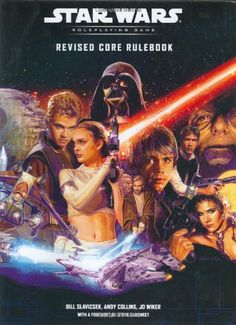 Revised Core Rulebook (Star Wars Roleplaying Game) by Bill Slavicsek http://www.amazon.com/dp/078692876X/ref=cm_sw_r_pi_dp_adoZub1MYGR00