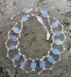Opal Gemstone Necklace                   by CedarCreekCanada