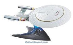 Hot Wheels Star Trek Battle Damaged U.S.S. Enterprise NCC-1701-D Model P8519 Mattel