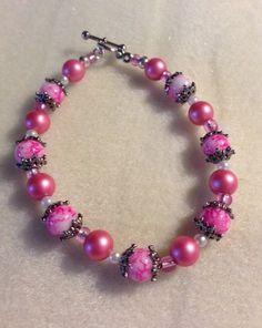 Handmade Beaded Bracelet by clcdesignerjewelry on Etsy