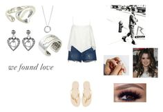 """""""We Found Love by Rihanna"""" by ocean-goddess ❤ liked on Polyvore featuring Havaianas, Tiffany & Co., John Hardy and Avenue"""