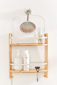 Check out Barrel Shower Caddy from Urban Outfitters Porta Shampoo, Shower Rack, Shower Caddies, Design Rustique, Kitchen Remodel Cost, Remodel Bathroom, Metal Bar, Bathroom Storage, Bathroom Ideas