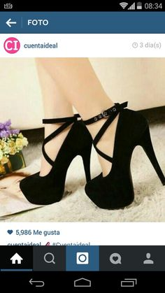 Shop Platform Stiletto Heel Closed-toes Female Prom Shoes on sale at Tidestore with trendy design and good price. Come and find more fashion Pumps here. Pretty Shoes, Cute Shoes, Me Too Shoes, Beautiful Shoes, Black Stiletto Heels, High Heels Stilettos, Black Prom Heels, High Heels For Prom, High Shoes