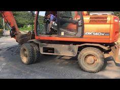 굴삭기 주행 실습 - YouTube Tractors, Monster Trucks, Vehicles, Rolling Stock, Vehicle, Tools