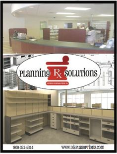 Our Pharmacy Planning team has over 70 years combined experience and has planned, designed and installed over 2,000 pharmacies since 1973. Our unique strategy incorporates the owner's business model and our expertise to develop a plan that maximizes profits, increases efficiency and improves overall results.  (As seen in the 2014 Pharmacy Platinum Pages Buyer's Guide: rxplatinumpages.com)