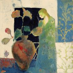 Girl in a Garden...judy thorley