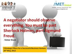 Are you an effective Business Negotiator?
