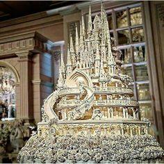 Wedding cake by an Italian baker