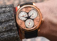 F.P. Journe Centigraphe Souverain Watch Hands-On