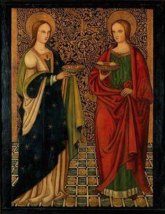 Saint Lucy and Saint Agatha