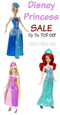 Get these for kids parties. or hold them till birthday or Christmas! Disney Princess sale, toy sale perfect gift idea for little girls with free shipping options. birthday party gift