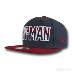 Images of Ant-Man Logo 9Fifty Snapback Cap
