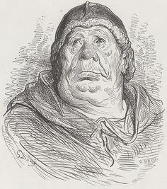 Doré, Gustave: Illustration zu Rabelais' »Gargantua und Pantagruel«, Buch III, Kapitel 30 [1]