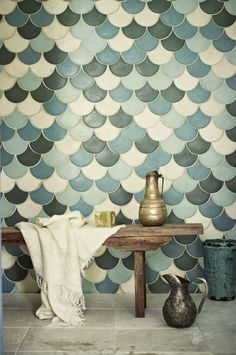 Michelle - Blog #Tiles #Design Fonte : http://hglivingbeautifully.com/2012/07/15/irresistible-pattern/