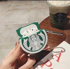 Starbucks Airpod Case - New Sites Diy Phone Case, Cute Phone Cases, Iphone Case Covers, Coque Iphone, Iphone 6, Starbucks, Airpods Apple, Apple Watch Bands Fashion, Cute Headphones