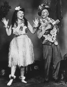 Still of Percy Kilbride and Marjorie Main in Ma and Pa Kettle at Waikiki