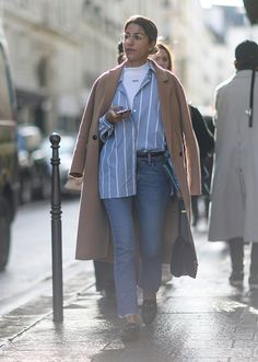 There's a reason Americans spend half their lives trying to live like French women: They do it better. Ahead, see the best paris fashion week street style from the fall 2017 season. Street Style 2017, Street Look, Autumn Street Style, Street Chic, Street Style Women, Fashion Week Paris, Cool Street Fashion, Love Fashion, Fashion Today