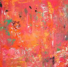 """Feuillage 21,"" by Sandrine Naumann, 20"" by 20"" on gallery wrap, $480    Gregg Irby Fine Art Gallery"