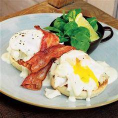Smoked haddock eggs Benedict Recipe | delicious. Magazine free recipes
