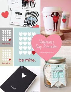 Valentine's Day Printables for a sweet holiday!