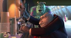Post with 0 votes and 23774 views. In Monsters, Inc. there are multiple sizes of coffee cup for each of the different sized monsters. Cartoon Movies, Disney Movies, Disney Easter Eggs, Brave Little Toaster, Nick And Judy, Judy Hopps, Kermit The Frog, Monsters Inc, Magic Carpet