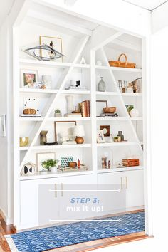 3 Steps to Styling Your Bookcase_Emily Henderson_Step 3
