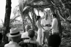 www.jenniferharter.com The ceremony. Destination Wedding Costa Rica. Playa Hermosa Wedding