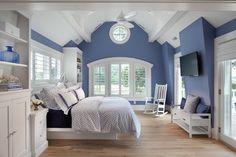 Beach House Delight - beach-style - Bedroom - Dc Metro - Anthony Wilder Design/Build, Inc.