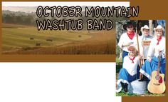 October Mountain Washtub Band returns to the Leesburg Public Library on Saturday, June 28th, 2014 at 2pm. Come clap your hands to the gospel, pop, country and blues sounds of the October Mountain Washtub Band!