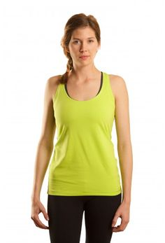 Basic Racer in *Sprout*  Everyone will see you coming in this bright color, NEW for spring!