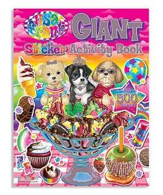 LISA FRANK Sticker Book 1885 Stickers Official Collector's Set!
