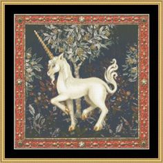 Prancing Unicorn Mystic Stitch Cross Stitch Pattern
