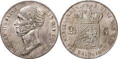 NumisBids: Schulman b.v. Auction 346, Lot 700 : KONINKRIJK DER NEDERLANDEN - WILLEM II 1840–1849 2½ Gulden of...