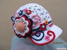 Вязаные летние бохо-шапочки | Бохо стиль