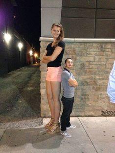 tall girl short boy by lowerrider.deviantart.com on @deviantART