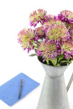 Artificial Flowers #flowers #desk #decor #interior