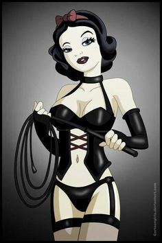 Twisted disney pin up