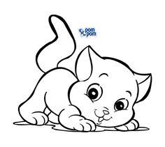 gato-colorir.jpg (559×500)