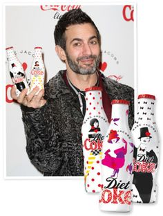 These Are the Diet Coke Bottles Marc Jacobs Designed | Fashion - Yahoo! Shine