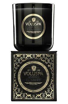 Voluspa 'Maison Noir - Ambre Lumiere' Scented Candle   Nordstrom