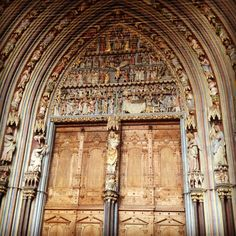 Freiburg Cathedral Front Gate