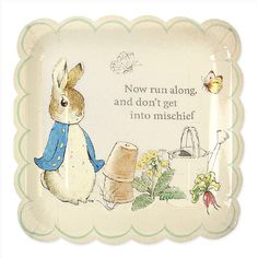 Peter Rabbit & Friends Large Plates