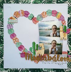 Layout by Piroska Czakó-Radványi Travel Scrapbook Pages, Scrapbook Layouts, Scrapbooking, Laugh A Lot, Page Design, I Am Happy, To My Daughter, Art Journaling, Birthday